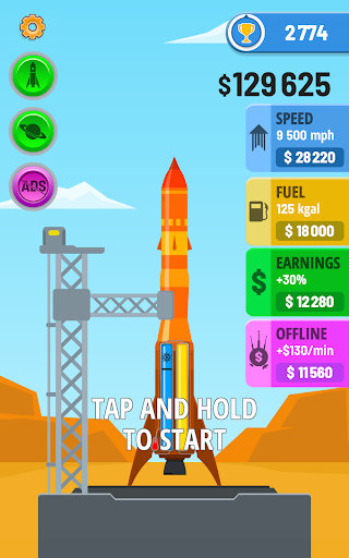 Rocket Sky! - screenshot