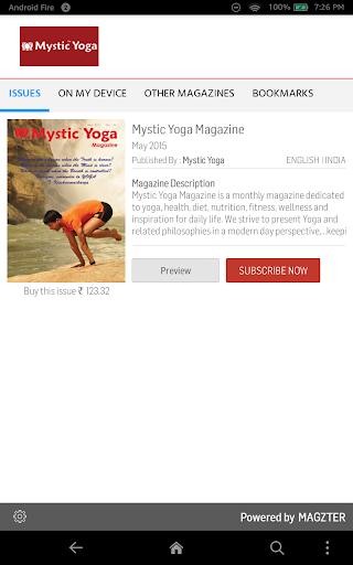 Mystic Yoga Magazine