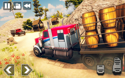 Cargo Delivery Truck Driver - Offroad Truck Games 1.5 screenshots 2