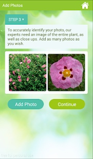 Garden Answers Identificación de Plantas Screenshot