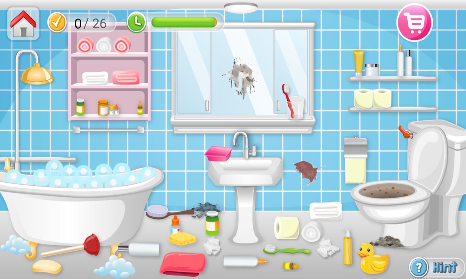 bathroom cleaning games cleaning clean house android apps on play 10082