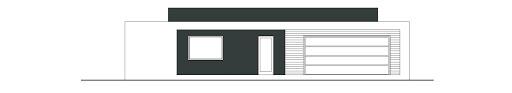 Otwarty D42 - Elewacja przednia