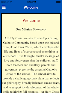 Holy Cross Primary CVA- screenshot thumbnail