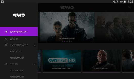 WAVO Ekran Görüntüsü