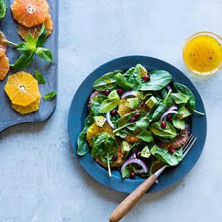 Winter Salad with Grapefruit & Avocado.