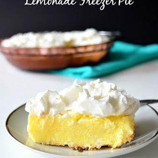 Lemonade Freezer Pie