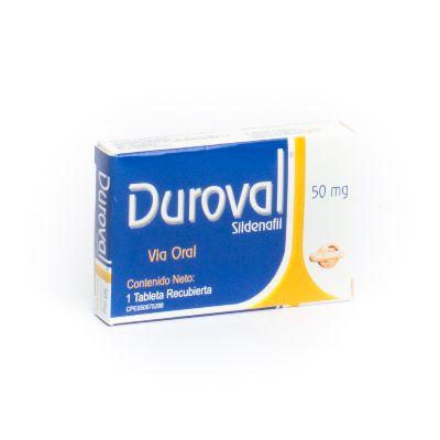 Sildenafil Duroval 50 mg x 1 Tableta
