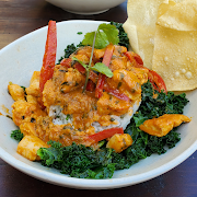 *NEW* Red Curry Chicken Kale Bowl