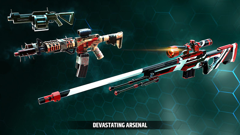 Cover Fire: shooting games Screenshot 15
