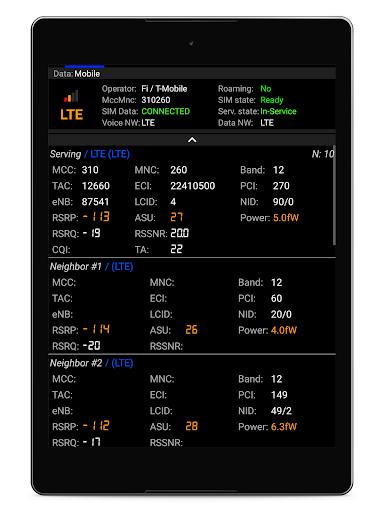 Network Cell Info Lite screenshot 11