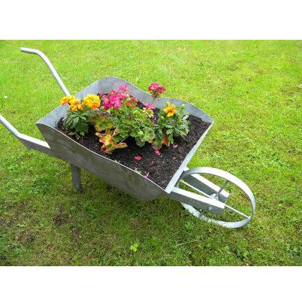 Blomstervagn varmgalvad