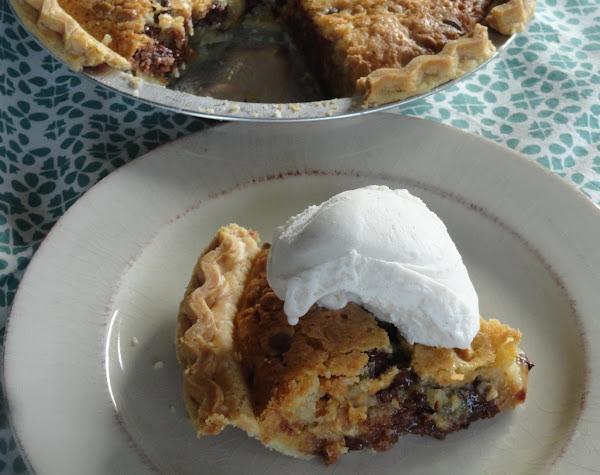 Chocolate And Peanut Butter Cookie Dough Pie Recipe