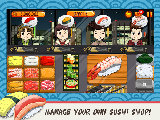 Sushi Friends-Best&Fun Restaurant Game for Girls 1.0.3 screenshots 9