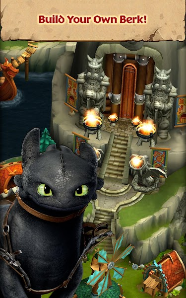 Dragons: Rise of Berk v1.28.10 (Mod Runes)