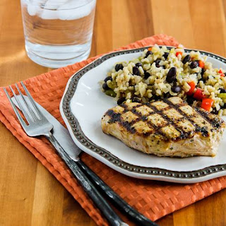 Grilled Lime and Chipotle Pork Chops