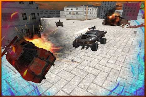 Racing Fever: Death Racer 3D - náhled