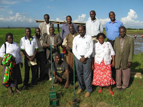 Photo: The Knowledge Exchange Programme (Jan. 2010) conducted in the Mwea and Ahero irrigation schemes in Kenya [Photo Courtesy of Bancy Mati]