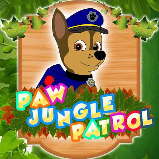 Boss Paw DOG Run Patrol Game