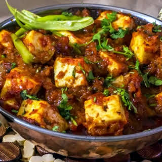 Recipe for Paneer Butter Masala.