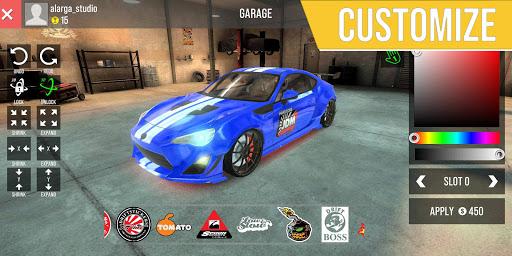 Code Triche AAG Car Drift Racing APK MOD screenshots 2