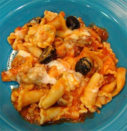 """Italian Bake Casserole""""My husband REALLY LOVED this recipe! I usually have to..."""
