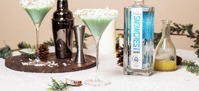 A Beautiful Winter Drink From Willie's Distillery