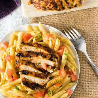 Chili's Cajun Chicken Pasta.