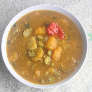 Coconut Curry Vegan Stew.