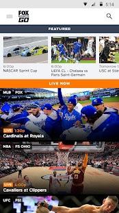 FOX Sports GO Screenshot 1