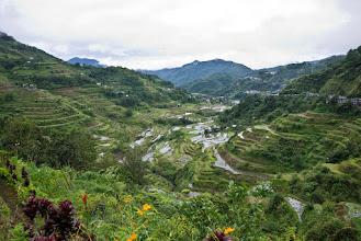 Photo: Les hauteurs de Banaue