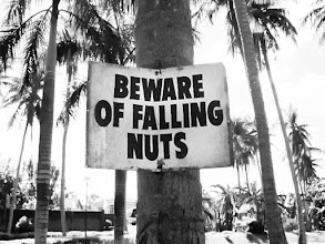 Photo: You have been warned  Never realized that the word 'nuts' has more than 7 meanings to it. Really nuts.  #signsunday by the dancing duo of +walt sprinkle and +Gene Bowker  #monochromaticpaintitsunday +Alexius Jørgensen +Susana Segat +abhishek chamaria