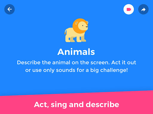 Screenshot for GuessUp Kids - Party Charades in United States Play Store