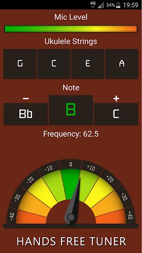 Ukulele Tuner Free 10.2 screenshots 1