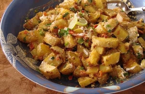 """""""route 66"""" Diner Fiesta Potato Salad Recipe"""