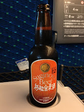 Photo: 杉能舎麦酒アンバーエール。意外と炭酸が強くてコクよりも刺激があった。小倉駅で購入。