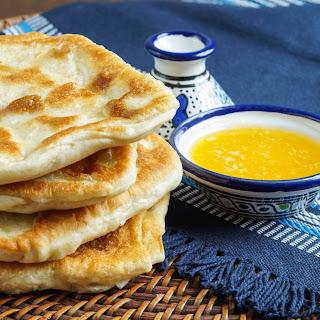 Rgaïf- Msemen (Moroccan Flat Bread).