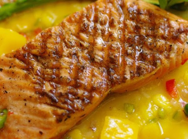 Mango-glazed Salmon Recipe
