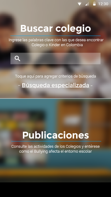 Colombian Schools- screenshot