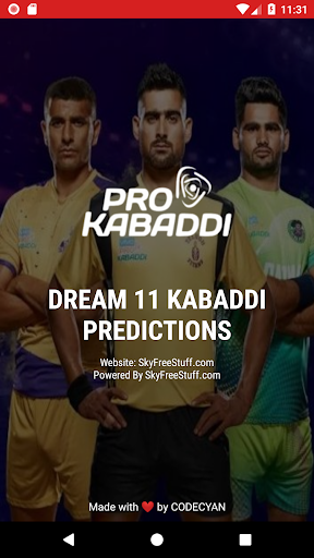 Dream 11 Kabaddi Predictions 1.3 screenshots 1