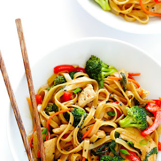 30-Minute Sesame Chicken Noodle Stir-Fry.