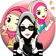 Hijab Muslimah Sticker For Whatsapp -Islam Sticker