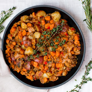 Savory Sweet Potato Hash.