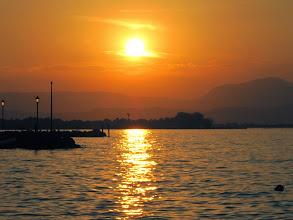 Photo: Sunset in Peschiera del Garda - Italy