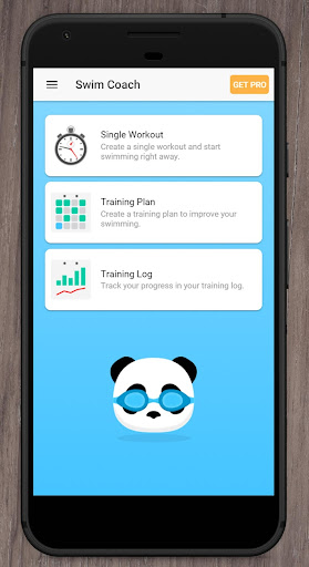 Swim Coach - Workouts for Swimming & Triathlon Fitness app screenshot 1 for Android