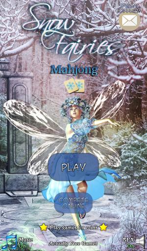 Hidden Mahjong: Snow Fairies