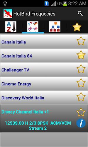 Download HotBird Channels Frequencies APK latest version app