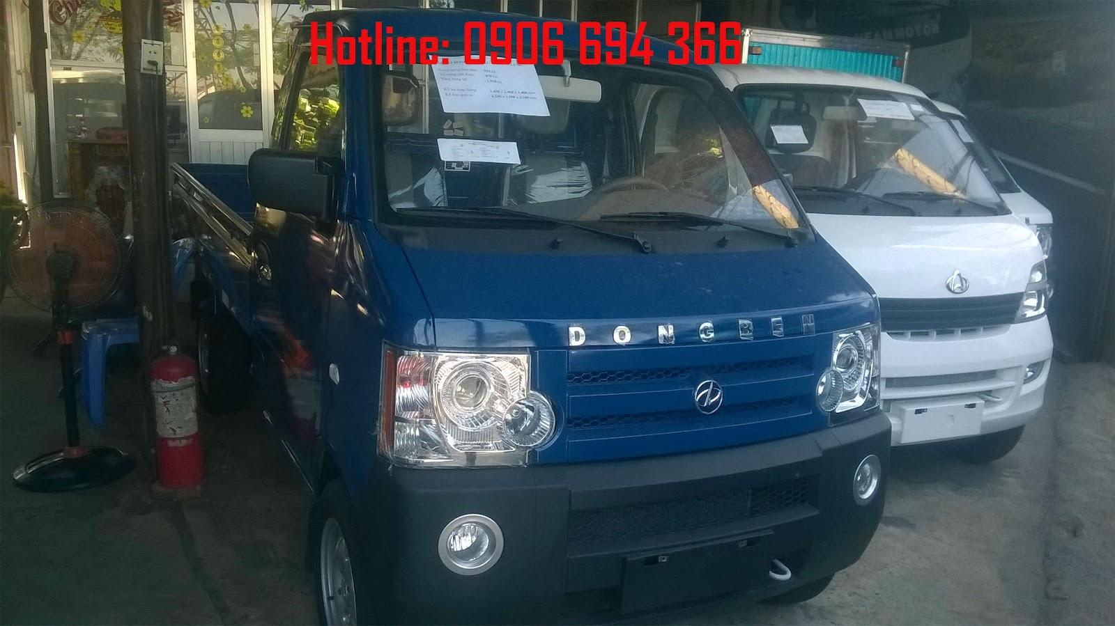 Đại lý bán xe tải 800kg - Bán xe tải nhỏ 870kg Dongben thùng 2 mét 5 trả góp lãi suất thấp