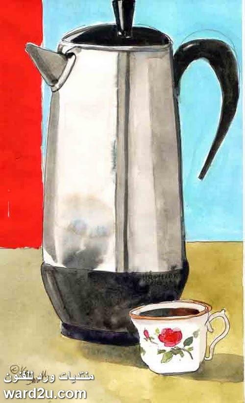 شفافية اللون و بساطة التكوين للفنانة Kay Smith