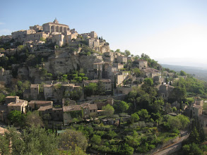 Photo: Today we walk from Gordes to Goult ...