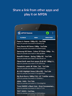 MPDN Remote Control- screenshot thumbnail